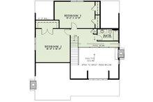 Cottage Floor Plan - Upper Floor Plan Plan #17-2544