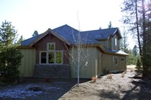 House Design - Craftsman style home design, elevation photo