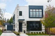 Contemporary Style House Plan - 3 Beds 2.5 Baths 2368 Sq/Ft Plan #928-296 Exterior - Front Elevation