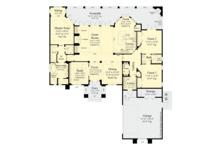 Contemporary Floor Plan - Main Floor Plan Plan #930-502