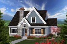 House Plan Design - Craftsman Exterior - Front Elevation Plan #70-1228