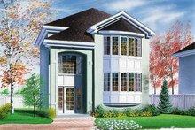 House Plan Design - Exterior - Front Elevation Plan #23-2116