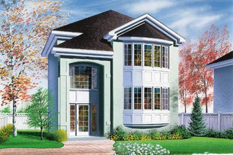 Exterior - Front Elevation Plan #23-2116