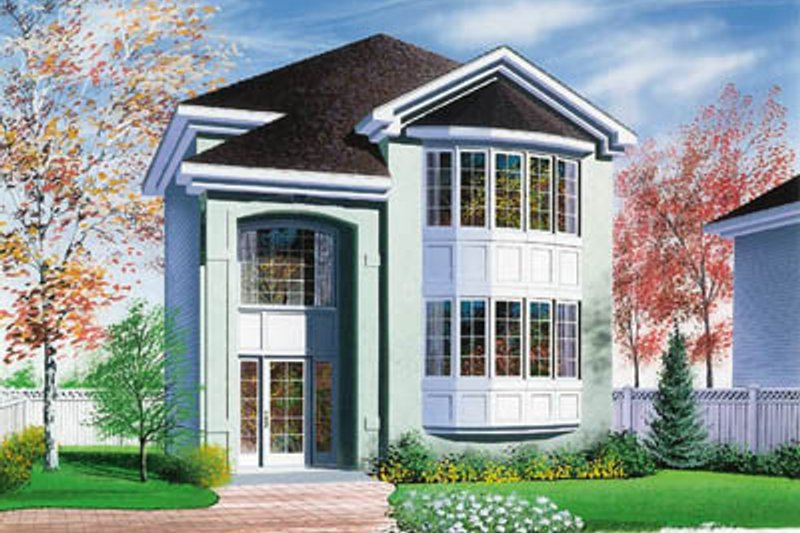 Dream House Plan - Exterior - Front Elevation Plan #23-2116