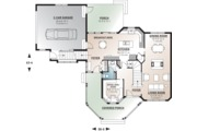 Victorian Style House Plan - 3 Beds 2.5 Baths 1936 Sq/Ft Plan #23-749 Floor Plan - Main Floor