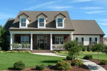 Dream House Plan - Country Exterior - Front Elevation Plan #20-1029