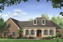 Dream House Plan - European Exterior - Front Elevation Plan #21-257