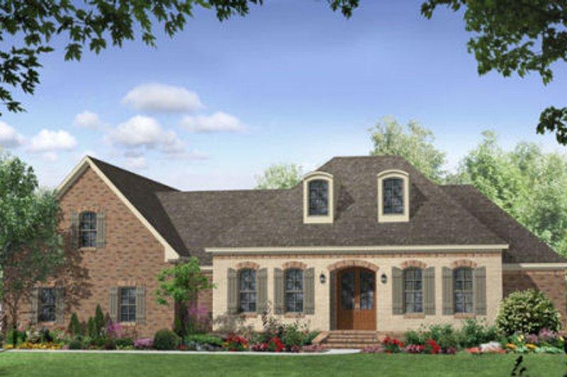 Dream House Plan - European Exterior - Front Elevation Plan #21-257