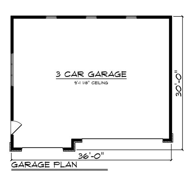 House Plan Design - Traditional Floor Plan - Main Floor Plan #70-1450