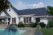 Farmhouse Style House Plan - 4 Beds 3 Baths 2192 Sq/Ft Plan #120-263 Exterior - Rear Elevation
