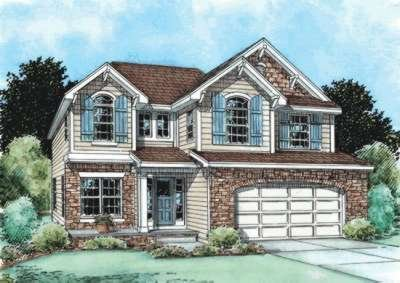 Traditional Exterior - Front Elevation Plan #20-1769 - Houseplans.com