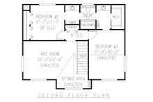 Country Floor Plan - Upper Floor Plan Plan #11-121