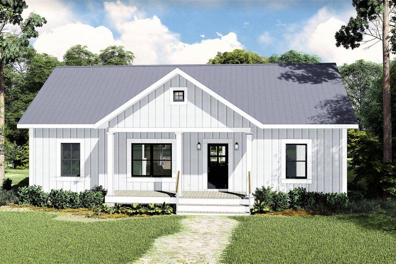 Dream House Plan - Farmhouse Exterior - Front Elevation Plan #44-227