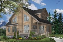 Home Plan - Country Exterior - Front Elevation Plan #23-2030