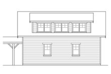 Home Plan - Country Exterior - Other Elevation Plan #124-1100