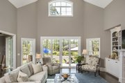 Craftsman Style House Plan - 4 Beds 3 Baths 3335 Sq/Ft Plan #929-920 Interior - Family Room