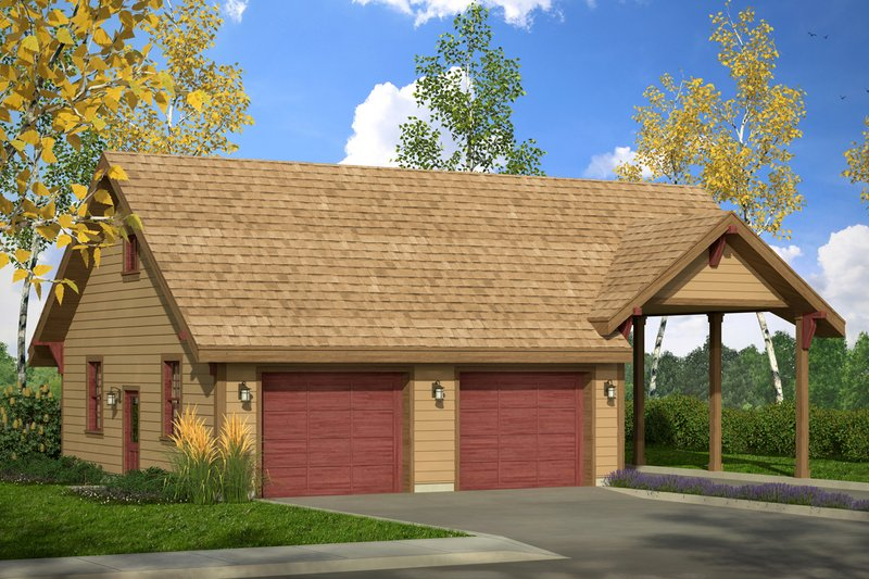 Traditional Exterior - Front Elevation Plan #124-1054
