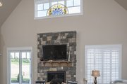 European Style House Plan - 3 Beds 2.5 Baths 2170 Sq/Ft Plan #929-859 Interior - Family Room