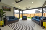Contemporary Style House Plan - 3 Beds 2.5 Baths 2591 Sq/Ft Plan #1070-153