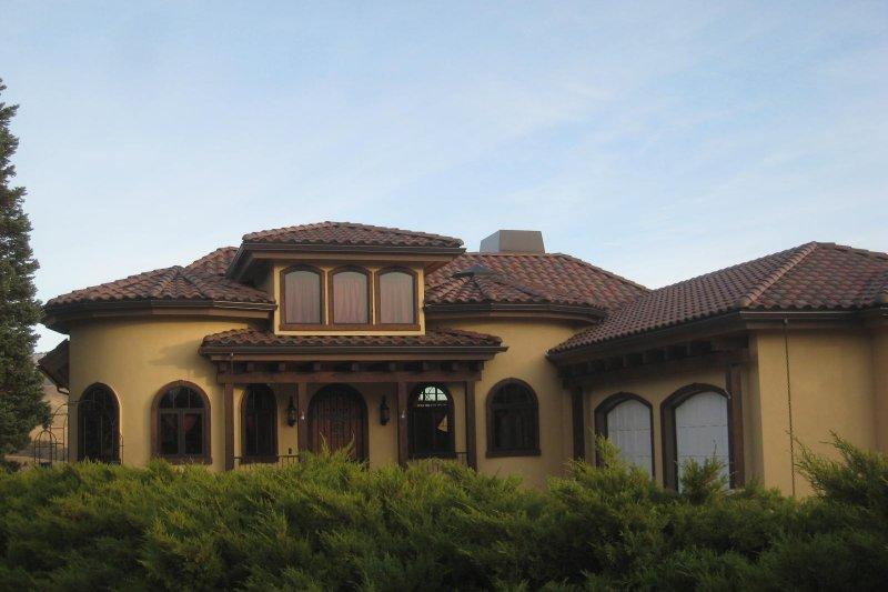 House Plan Design - Contemporary Exterior - Front Elevation Plan #451-22