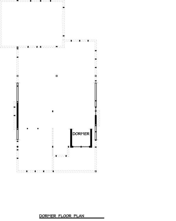Craftsman Floor Plan - Upper Floor Plan #895-25