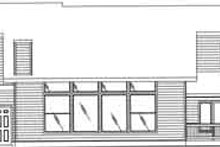 Traditional Exterior - Rear Elevation Plan #117-352