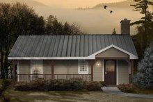 House Design - Ranch Exterior - Front Elevation Plan #22-510