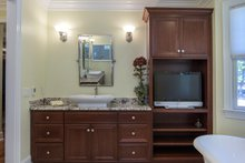 European Interior - Master Bathroom Plan #929-877