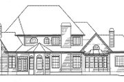 Traditional Style House Plan - 4 Beds 3.5 Baths 3565 Sq/Ft Plan #54-146 Exterior - Rear Elevation