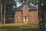Colonial Style House Plan - 4 Beds 3 Baths 2104 Sq/Ft Plan #30-206 Photo