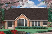Craftsman Style House Plan - 3 Beds 2 Baths 1975 Sq/Ft Plan #48-125 Exterior - Rear Elevation