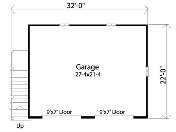 Traditional Floor Plan - Main Floor Plan Plan #22-564