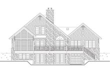 Craftsman Exterior - Rear Elevation Plan #23-419