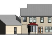 Farmhouse Style House Plan - 3 Beds 3 Baths 2557 Sq/Ft Plan #524-15 Exterior - Rear Elevation