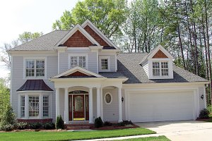 Colonial Exterior - Front Elevation Plan #453-88