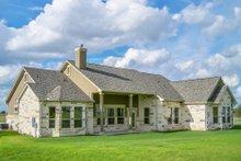 Dream House Plan - European Exterior - Rear Elevation Plan #80-200