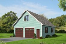 Dream House Plan - Country Exterior - Front Elevation Plan #932-130
