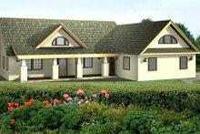 Dream House Plan - Exterior - Front Elevation Plan #117-564