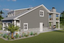 Dream House Plan - Traditional Exterior - Other Elevation Plan #1060-76