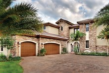 Home Plan - Mediterranean Exterior - Front Elevation Plan #930-21