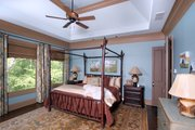 Craftsman Style House Plan - 4 Beds 4.5 Baths 3773 Sq/Ft Plan #54-386 Interior - Master Bedroom