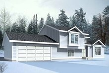 Exterior - Front Elevation Plan #100-409