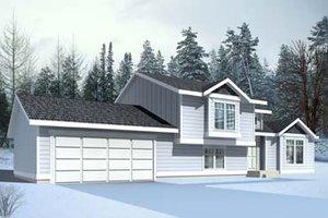 Exterior - Front Elevation Plan #100-409