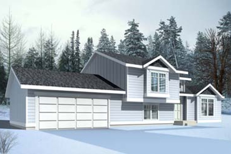 House Plan - 2 Beds 1 Baths 1399 Sq/Ft Plan #100-409 Exterior - Front Elevation