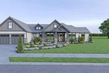 House Plan Design - Craftsman Exterior - Other Elevation Plan #1070-65