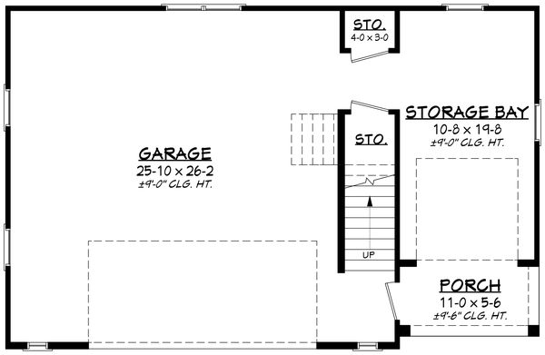 House Plan Design - Farmhouse Floor Plan - Main Floor Plan #430-236