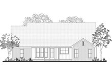 Farmhouse Exterior - Rear Elevation Plan #430-189