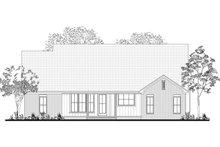 House Plan Design - Farmhouse Exterior - Rear Elevation Plan #430-189
