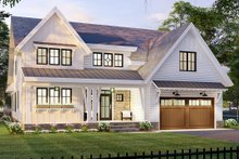 Home Plan - Farmhouse Exterior - Front Elevation Plan #51-1167