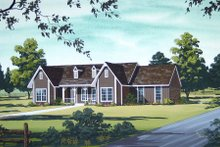 Country Exterior - Other Elevation Plan #45-326